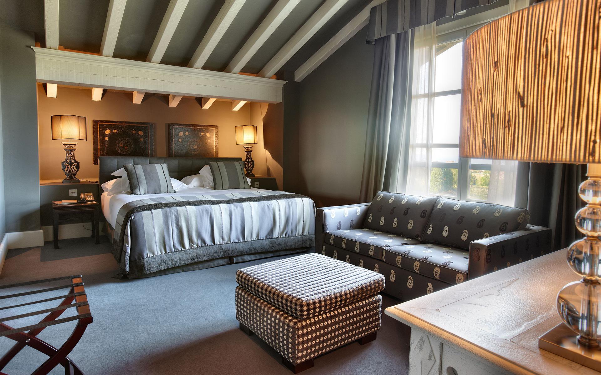 Chambre zarautz hotel iturregi h tel rural de luxe for Ver habitaciones de hoteles